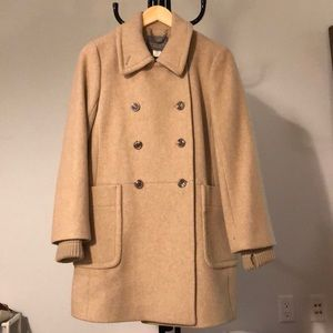 J crew stadium cloth nello gori coat